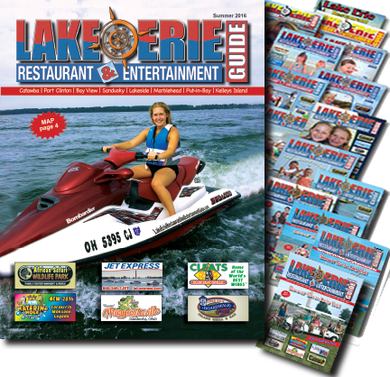 Print magazines for Lake Erie Restaurant & Entertainment Guide