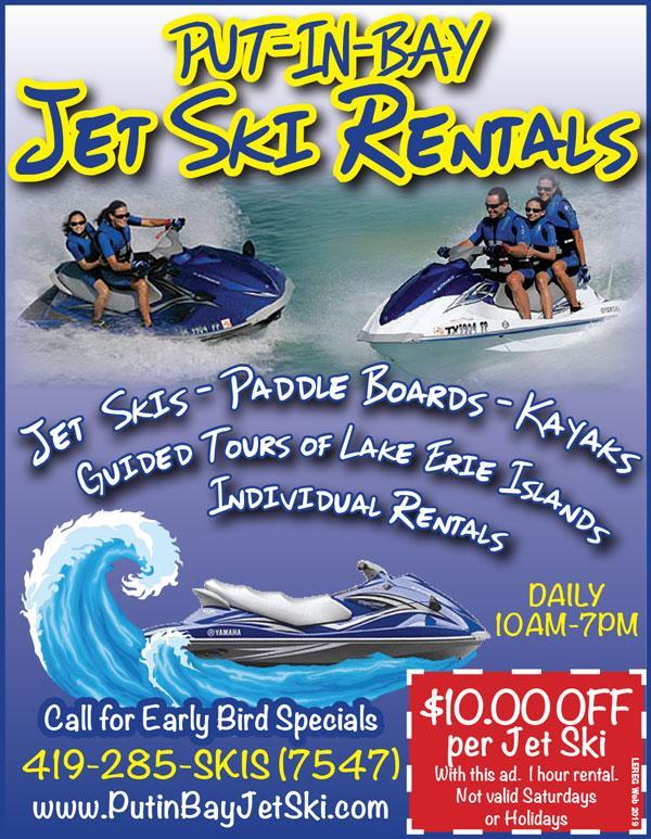 Put-in-Bay Jet Ski Rentals