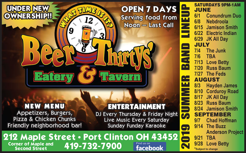 Beer Thirtys' Eatery & Tavern