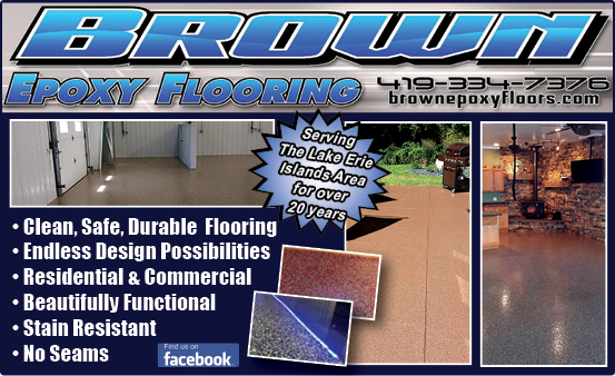 Brown Epoxy Flooring