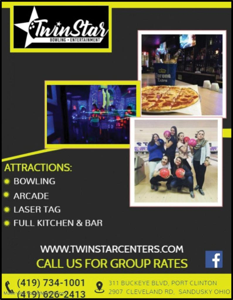 Twin Star Bowling & Entertainment – Sandusky